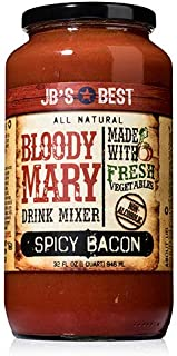 JB's Best Bloody Mary Mix - Spicy Bacon (32 ounce)
