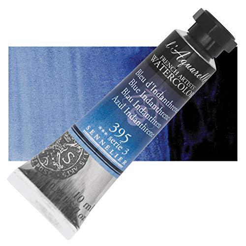 Sennelier l'Aquarelle Watercolor Tubes 10ml - Blue Indanthrene 10ml Tube