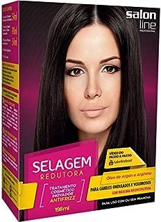 Linha Transformacao (Escovas) Salon Line - Kit Selagem Redutora para Cabelos Ondulados ou Volumosos (1 Shampoo Purificante 54 Ml, 1 Selante Redutor de Volume 90 Ml e 1 Mascara Reconstrutora 54 Ml)