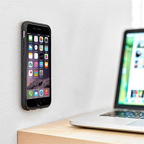 Anti Gravity Case per Apple Iphone 6 Plus / 6s Plus 5.5 Pollice Smart Slim Case Book Cover Stand Flip (Nero) NUOVO