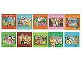 Offerta Speciale,10 Cd Audio + 10 DVD le Più Belle Canzoncine & Fiabe Idea Regalo per bambini e Per Feste di Compleanno,Hansel e Gretel, La Sirenetta, Pinocchio, Biancaneve ...
