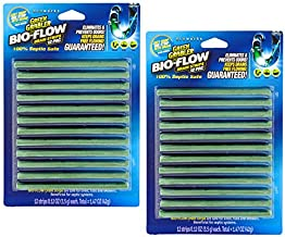 Green Gobbler BIO-FLOW Drain Strips - 24 Strips   Drain Cleaner & Deodorizer Drain Sticks