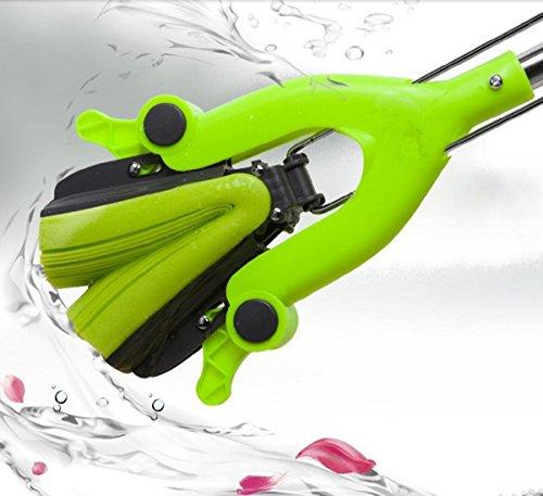 test GAOJIAN Wasserschwammmopp zum Quetschen und Falten von Edelstahlstangen Saugmopp aus elastischem Baumwollgummi… Deutschland