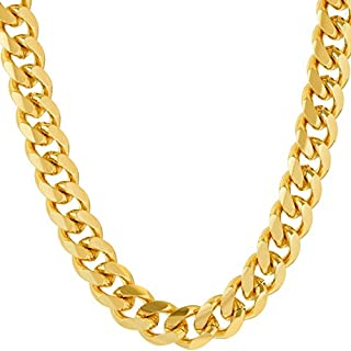 Lifetime Jewelry Necklace Chain [ 9mm Cuban Link Chain ]...