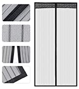 Door screens: these mesh/screens are used for main door/ balcony doors/ kitchen utility doors or any doors where there is a chance for mosquitoes to enter. Perfect magnetic fastening - a combination of 34 magnets ensures quick open and automatic clos...