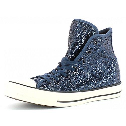 Converse - Converse All Star Scarpe Donna Blu Glitter - Blu, 35