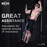 "INNSTAR Pull up Assist Bands System Adjustable Anti Snap Chin Up Assistance Elastic Resistance Band ""Patent Pending"""