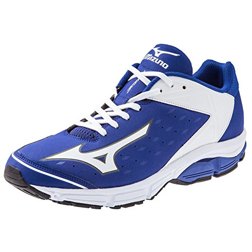 Mizuno Swagger 2 Trainer Mens Turf Shoes 15 Royal-White