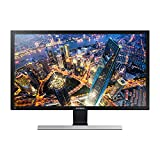 Samsung Monitor Business U28E570 Flat da 28', Pannello TN, 4K UHD 3,840 x 2,160 pixel, 1 ms, Freesync, 2 HDMI port, 1 Display port, Game Mode, Flicker Free, Eye Saver Mode, Nero, Versione 2021