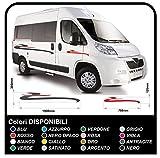 Pegatinas para autocaravanas y minibuses mini bus graficos pegatinas de vinilo camperas Set camper van RV Caravan caravana caravanas kit completo - gráficos 31 (COLORES COMO EN FOTOS)