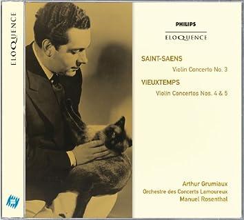 Saint-Saëns: Violin Concerto No.3; Vieuxtemps: Violin Concertos Nos.4 & 5