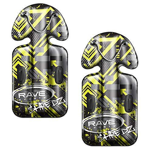 RAVE Sports 2 Pack Steerable SHREDZ Snow Sled