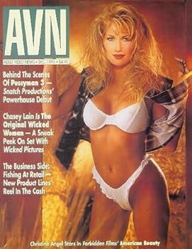 Adult Video News  AVN  - December 1993  Chasey Lain Nikki Sinn +