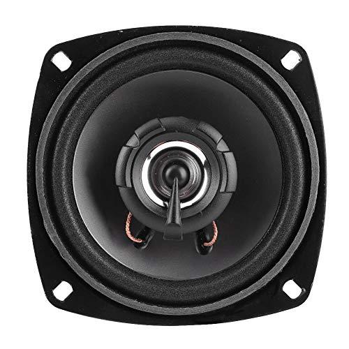 SolUptanisu Altavoces coaxiales para automóvil, 4 Pulgadas 12V 300W Altavoz coaxial Audio para automóvil Altavoces estéreo Música Altavoz de Alta sensibilidad para Sistema de Audio para automóvil