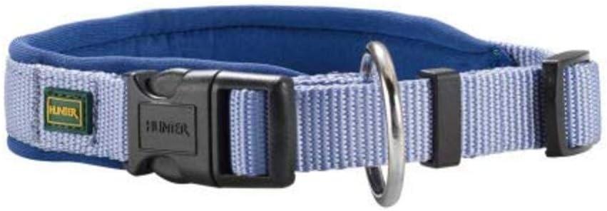 Hunter - Collar Neopren Vario Plus Cuello 45-50 Cm 20 Mm Azul