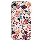 Velvet Caviar Compatible with iPhone XR Case Floral - Cute Protective Phone Cases for Girls & Women (Nude Vintage Wildflowers)