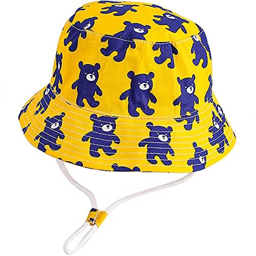 Unisexo Bebé Niña Niño Infantil Pequeños Sombrero de Sol Gorro de Pescador Verano Exteriores Protección Solar Gorro de Playa
