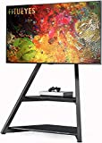 FITUEYES Serie Eiffel Art Floor TV Stand para televisores de 45-75 pulgadas Pantallas LCD / LED Soporte de montaje de TV universal ajustable en altura con gestión de cables, Max VESA 400x600 mm