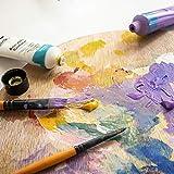 Mont Marte Acrylfarben Set Premium – 48 Stück, 36ml Tuben – Ideal für Acrylmalerei – Brillante Lichtechte Farben mit großer Deckkraft – Perfekt geeignet für Anfänger, Profis und Künstler - 2