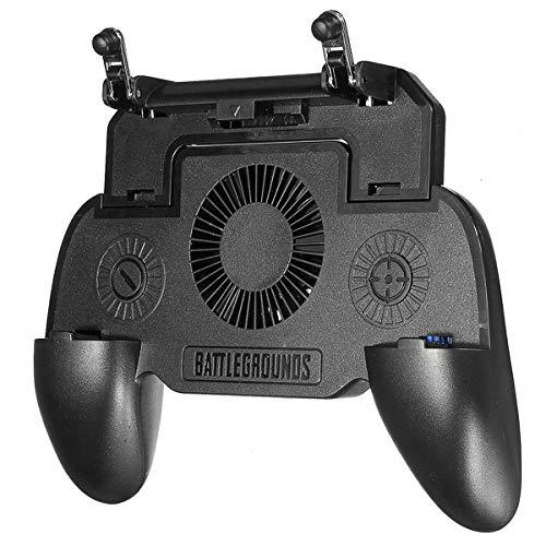 MidGard Game Controller mit Lüfter für Android Handy, iOS Smartphone mit Powerbank