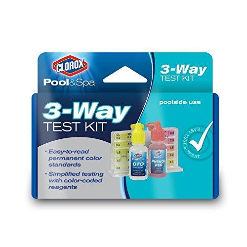 Clorox Pool&Spa 70000CLX 3-Way Test Kit (2)