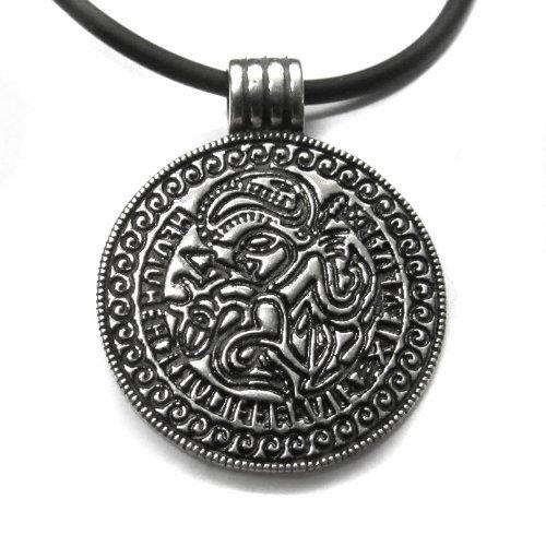 Anhänger Odin Amulett 925 Sterling Silber Keltischer