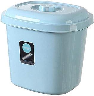 AWAING Bocaux Céréales Conteneurs Contenant à 20 kg / 15 kg / 10 kg Joint en plastique résistant à l'humidité du grain de ...
