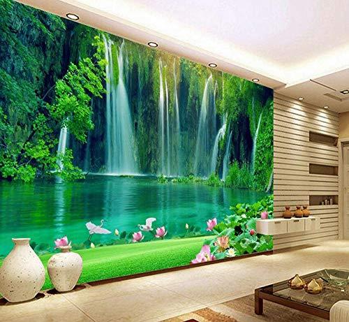 3D Vliestapete Wandaufkleber Wandbild Moderne Wasserfall Natürliche Tapetenrolle 3D Wallpapers Für Wall 3 D Walls Papierrollen Papier Peint @ 400 * 280