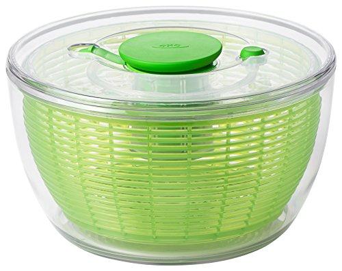 Oxo Good Grips 1266080v4mlnyk Essoreuse à Salade 4.0 Vert, Plastique, Vert, 58.42 x 29.84 x 35.56 cm