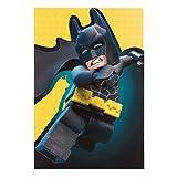 Hallmark tarjeta Batman Lego, tamaño mediano, en blanco.