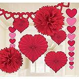 Amscan International–240184día de San Valentín Papel Kit de decoración de