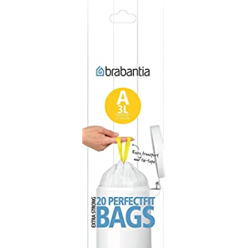 Brabantia 245305/bolsas de basura 20L Slim Line 20/unidades por rollo c/ódigo F