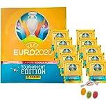 ★ Panini E.URO 2020 Tournament Edition Sticker – Álbum de recortes + 10 bolsas de pegatinas adicionales 1 x Sticker-& Co Fruit Mix