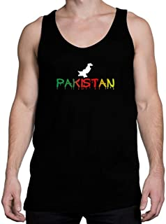Idakoos Dripping Pakistan Tank Top
