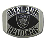 NFL Oakland Raiders Contemporary Style Ring, Size 10 Silver
