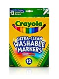 Crayola Ultra Clean Washable Markers, Fine Line...