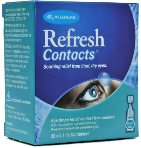 1 x Refresh Contacts Unit Vials