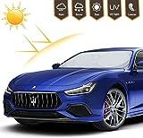 Adoric Life Car Windshield Sun Shade, Blocks UV Rays Foldable Sun Visor Protector,...