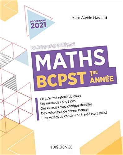 Maths BCPST 1re année (Parcours Prépas) (French Edition)