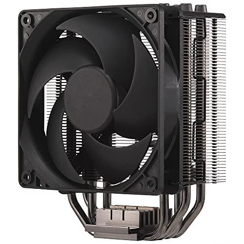 Cooler Master Hyper 212 Black Edition - silencieux, élégant et précis, 4 caloducs à contact direct continu avec ailettes, ventilateur Silencio FP120, Noir