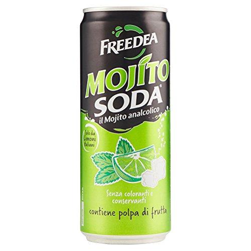 MOJITOSODA 24 x 0,33l Dose MOJITO SODA ohne Alkohol