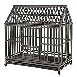 KELIXU 48' Heavy Duty Dog Crate Large Dog cage Dog Kennels...