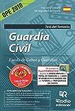 Guardia Civil. Escala de Cabos y Guardias. Test del Temario. Edición 2016 (OPOSICIONES)