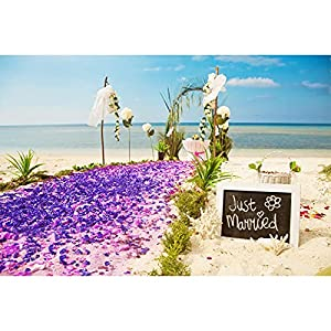 2500pcs dark blue rose petals, artificial flowers for decoration wedding party, valentine's day, honeymoon, anniversary silk flower arrangements