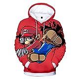 DUHUD Teen Girls and Boys 3D Print Hoodie Unisex Pullover Christmas Xmas Gift Sweatshirts QQ0808G 6 Years