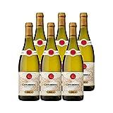 Condrieu Blanc 2019 - Maison Guigal - Vin AOC Blanc de la Vallée du Rhône - Lot de 6x75cl - Cépage Viognier