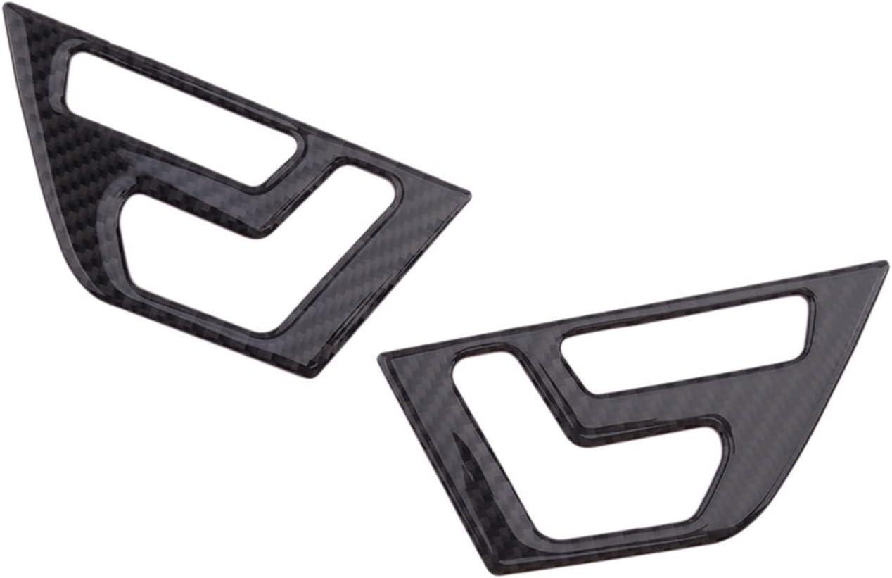 ZHUHUI YUYANGZHI 2pcs Carbon Fiber Seat Black Shif Interior Surprise price Door Outlet SALE