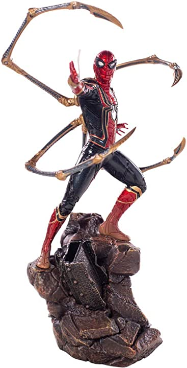 Iron studios netaddiction marvel avengers infinity war iron spider man bds 1/10 art 25 cm statua B07QZX68ZG