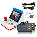 Mini consola portátil retro de juego portátil de 3 pulgadas, 8 bits, 360 vídeo, juegos clásicos, familias, mini pantalla, consola, visualización de regalo