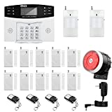 Thustar Home Alarm System Wirelss GSM Security System Kit Remote Control Intelligent LED...